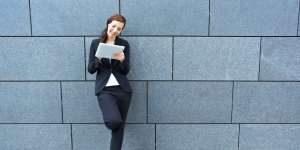 mobiel werken voor sales met de Tablet Sales App